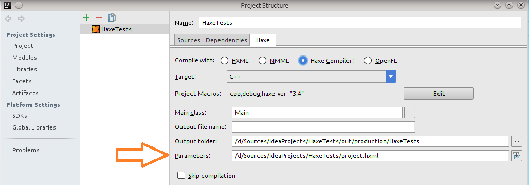 Compiler-based Completion - IntelliJ-Haxe